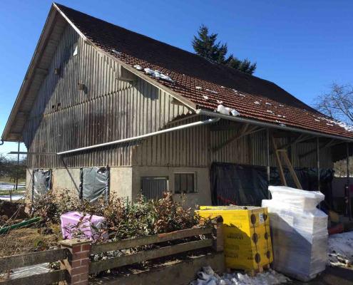 Strobel Bausanierung _Scheune_Einfamilienhaus