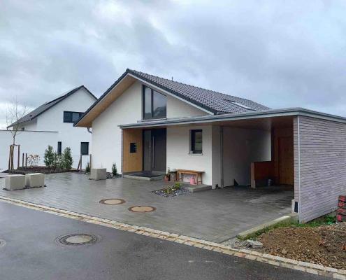 Strobel Komplettbau _Einfamilienhaus Ansicht