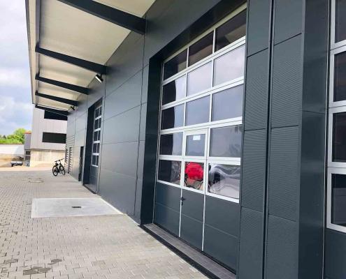 Strobel Komplettbau - Projekt Gewerbehalle für eine Fahrschule